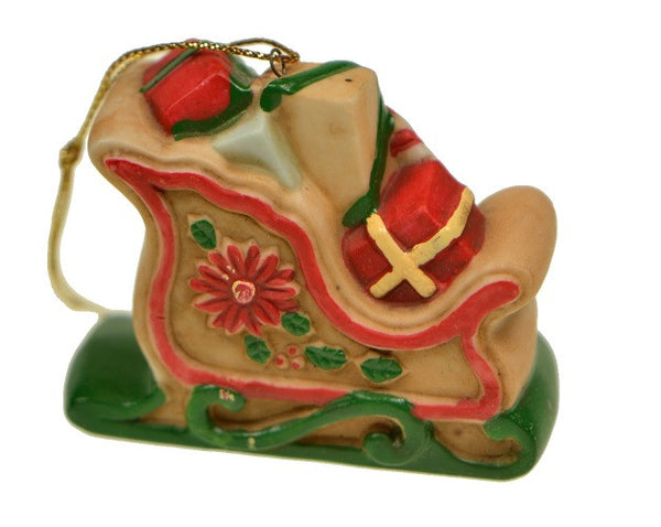 Holiday | Christmas Ornaments Santa Sleigh Ornament