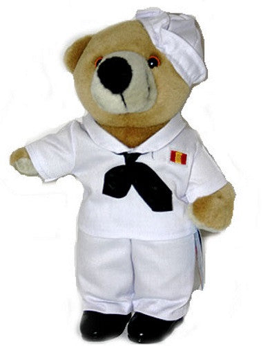 Plush | Navy Sailor Teddy Bear