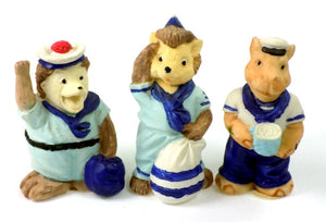 Figurine | Sailor Theme Animal Figurines Shop today at One Great Shop