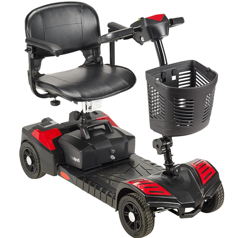 Mobility |  Drive Medical Spitfire Scout 4 Compact Travel Scooter 4-Wheel