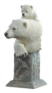 Figurines | Snow Cone Polar Bears Mill Creek Sculpture