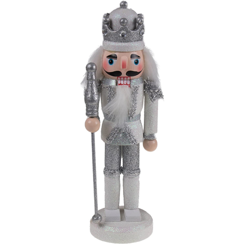 Traditional King Nutcracker Collectible Wooden Christmas Nutcracker