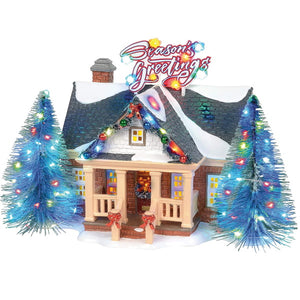 Christmas Village Department 56 Original Snow Village Brite Lites Holiday House