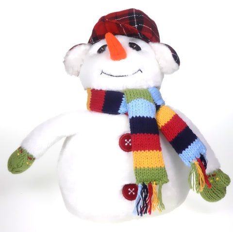Holiday | Christmas Stuffed Plush Snowman