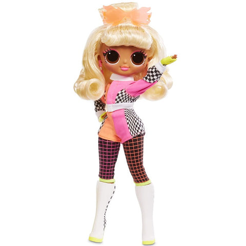 L.O.L. Surprise! O.M.G. Lights Speedster Fashion Doll with 15 Surprises
