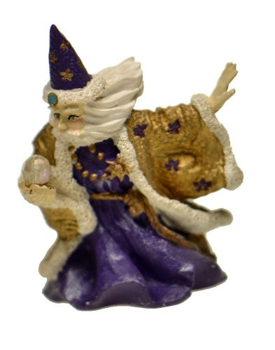 Collectibles | Spoontiques Painted Pewter Wizard