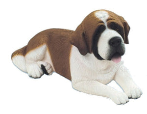 Figurine | Dog Saint Bernard Sculpture