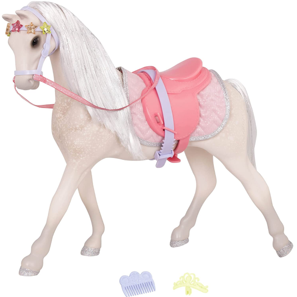 Glitter Girls by Battat | Starlight Toy Horse 14 inch Doll Accessories