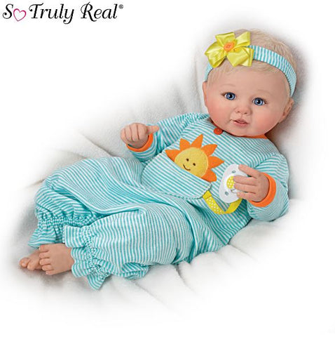 Ashton Drake Dolls Pocket Full of Sunshine Baby Doll