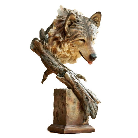 Collectibles | The Survivor Wolf Sculpture by Stephen Herrero