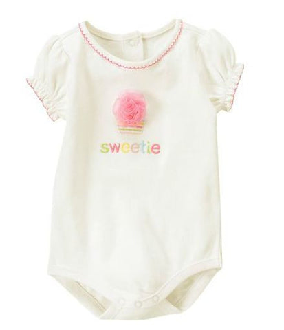 Baby Clothes | Gymboree Baby Girl Sweetie Bodysuit 0-3 Months