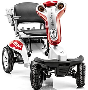 Titan 4-Wheel Electric Mobility Travel Large Scooter