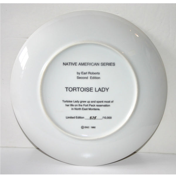 Collector Plate | Tortoise Lady David Grossman Designs