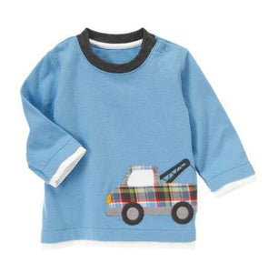 Baby Clothes | Gymboree Tow Truck Shirt for Baby Boy