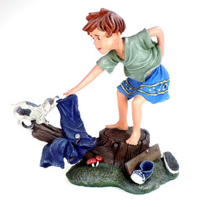 Collectibles | Tug O War Figurine Calibar Creations