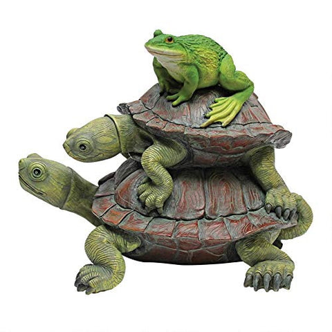 Frog and Turtle Figurines