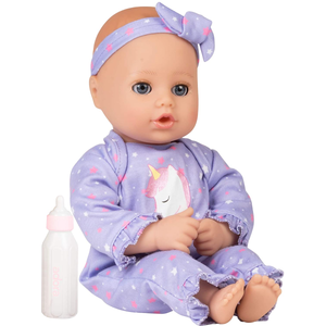 Dolls | Adora Playtime Baby Doll Unicorn Glitter, 13 inch Soft Doll, Open Close Eyes
