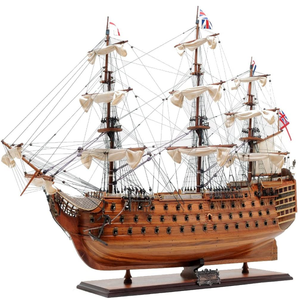 Old Modern Handicrafts HMS Victory Collectible, Medium