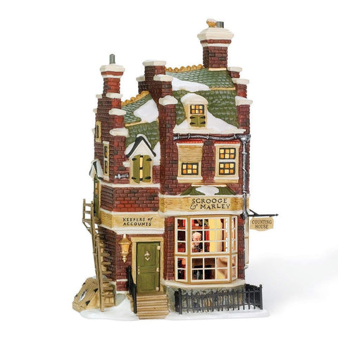Christmas Village Department 56 Dickens' Village Scrooge and Marley Counting House