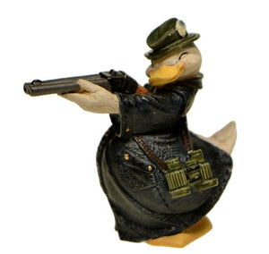 Collectibles | Enesco Duck with Rifle Figurine