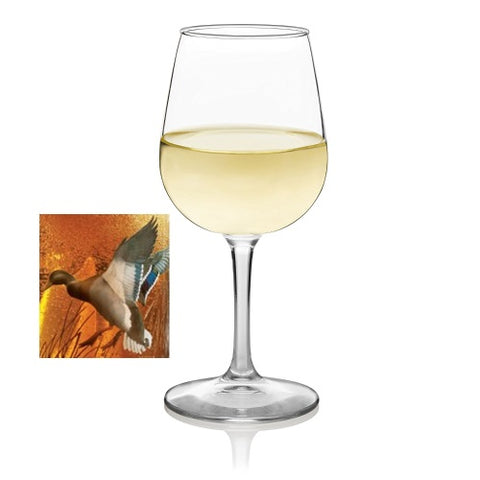 Home Decor | Mallard Ducks 10 oz Wine Glasses