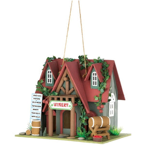 Birdhouses |  Cottage Winery Decorative Birdhouse