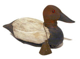 Duck Decoys | Working Canvasback Duck Decoy by Jennings Decoy Co.