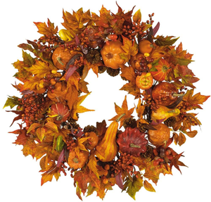 Harvest Wreath Home Decor