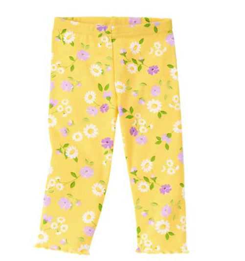 Baby Clothes | Gymboree Yellow Daisy Pants For Baby Girl 3-6 Months