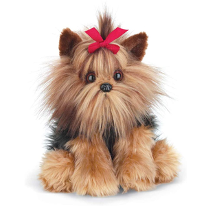 Yorkshire Terrier Stuffed Animal Toy Dog