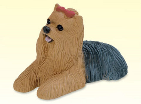 Dogs | Yorkshire Terrier Dog Statue Figurine