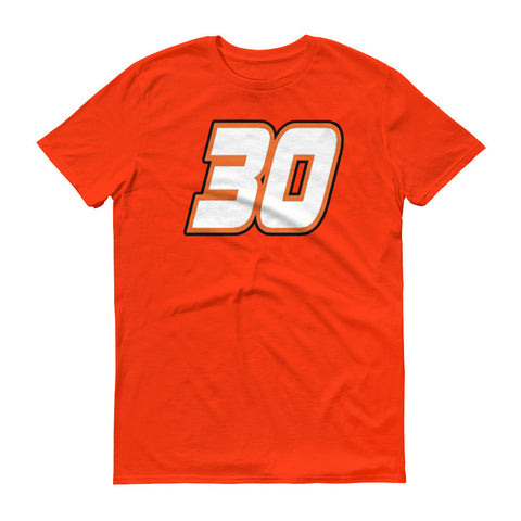 Brad Yunker - #30 Alternate Short sleeve t-shirt