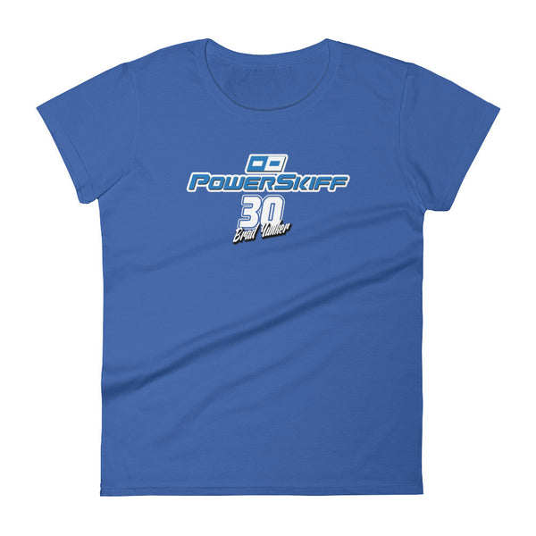 Brad Yunker - #30 PowerSkiff Women's short sleeve t-shirt