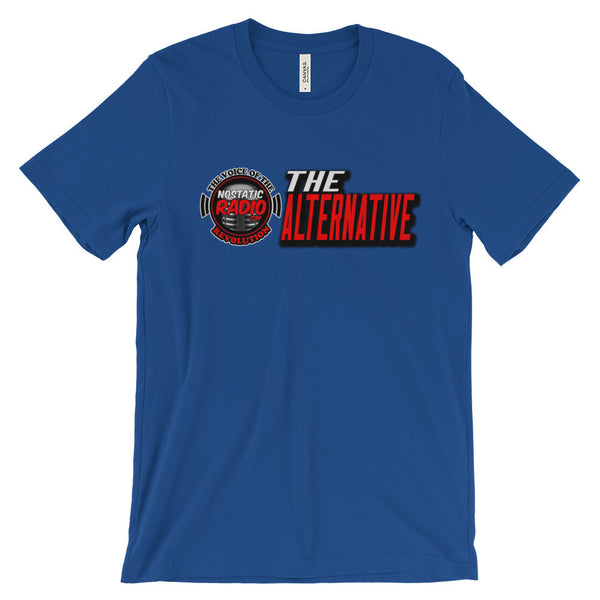 "NoStaticRadio.com - ""The Alternative"" Unisex short sleeve t-shirt"