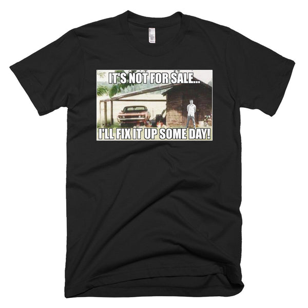 Troy's Torino Parts - Black Short sleeve men's t-shirt