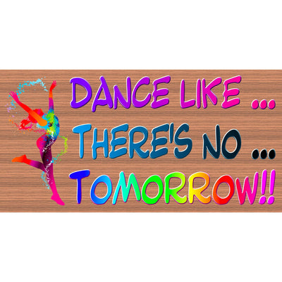 Dance Wood Signs -Dance Plaque -GS 038