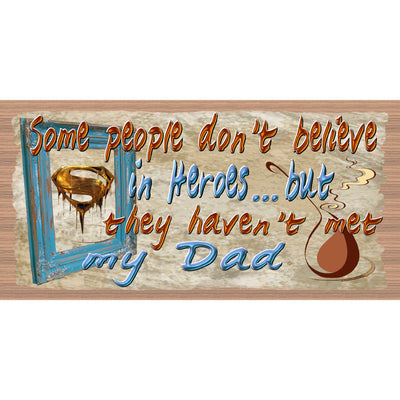 Dad Wood Signs - GS 041 - Dad Plaque - Dad Gift