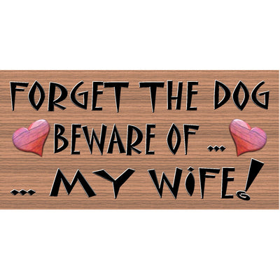 Wife Wood Signs - GS 052- Wife Plaque
