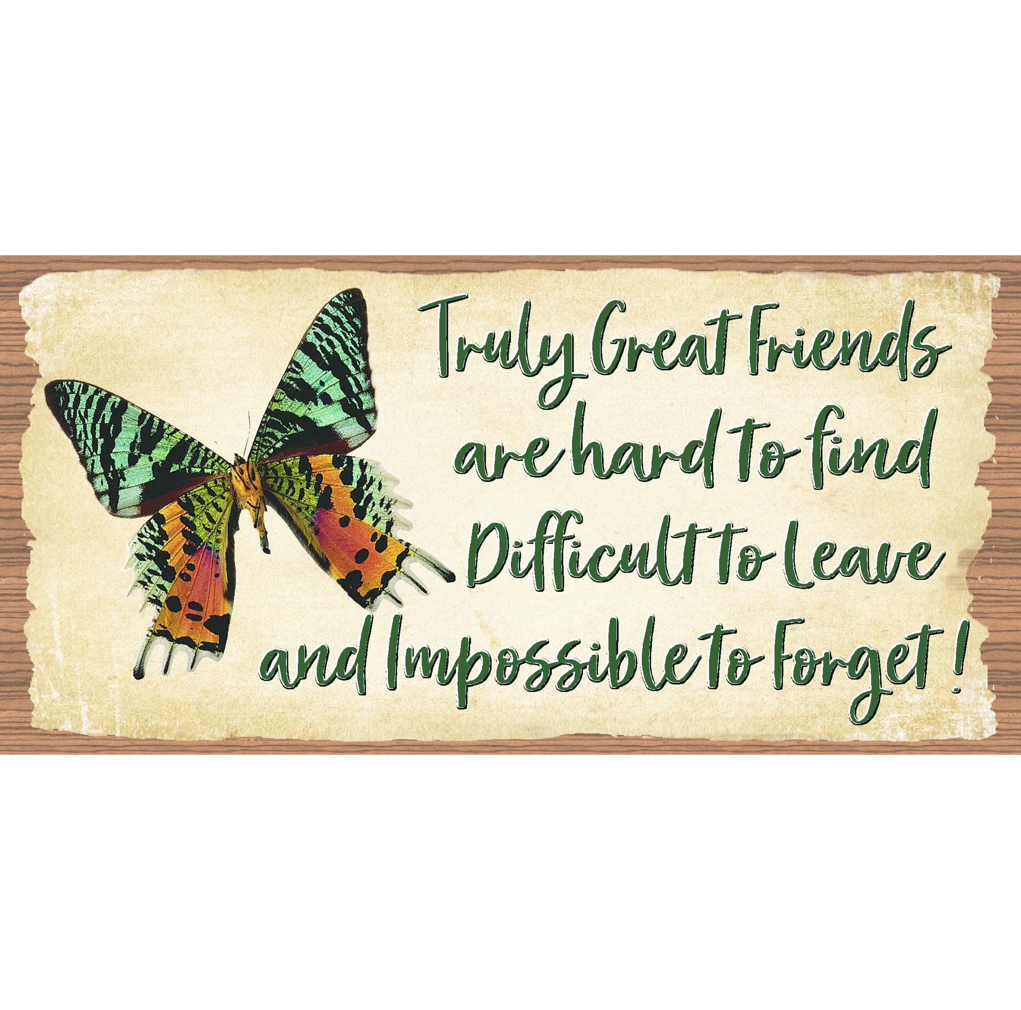 Friend Wood Signs - GS 1005 - Friendship Plaque
