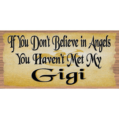 Gigi Wood Sings - If you Don't Believe in Angels - GS 1024