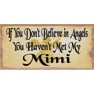 Mimi Wood Signs -Mimi Plaque - GS 1708