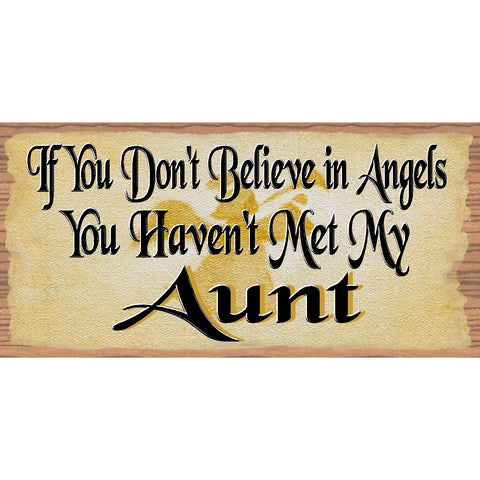 Aunt Wood Signs - Aunt plaque - GS 1714