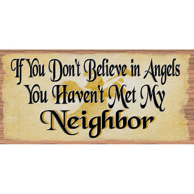 Neighbor Sign - Neighbor Plaque - GS 1716