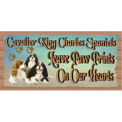 Cavalier King Charles Spaniels Wood Signs -GS 1769-Dog Sign