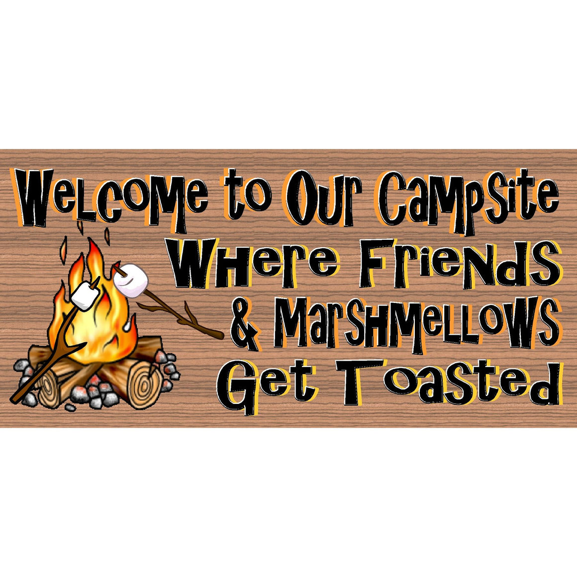 Camping Wood Signs - Camper plaque-GS 2248
