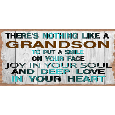 Grandson Wood Signs - Grandson Wood Plaque GS 2278 - Grandson Sign