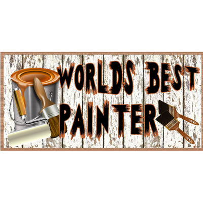 Painter Wood Signs - Painter Wood Plaque - GS 2283