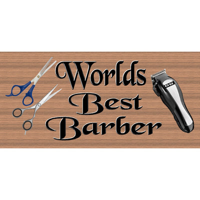 Barber Wood Signs  -Barber Plaque-GS 2293