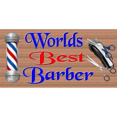 Barber Wood Signs  -Barber Plaque-GS 2294