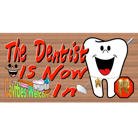 Dentist Wood Signs - Handmade Wood Sign Dentist - GS 2360 - Dentist Plaque - Dentist Office Sign